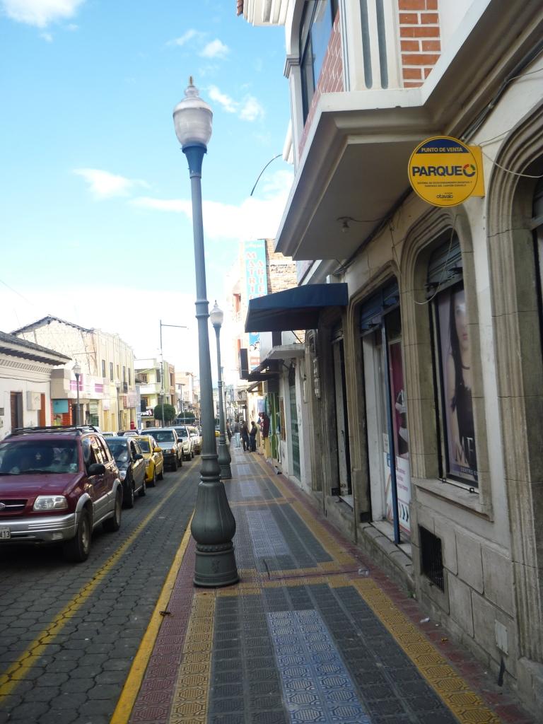 Calle Parqueo